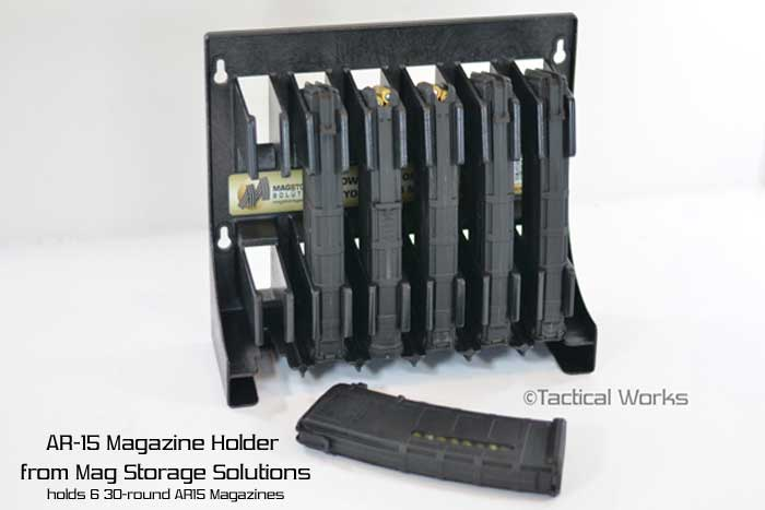 AR-15 Magazine Holder by Mag Storage Solutions