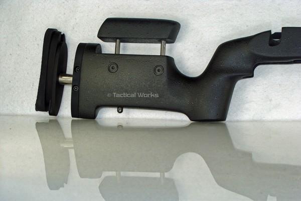 Remington 700 BDL Medalist SA Varmint / Tactical Adjustable Stock