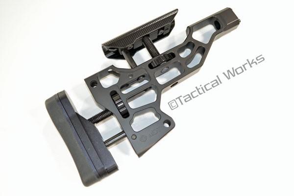 ESS Chassis Buttstock Black :: Modular Driven Technologies