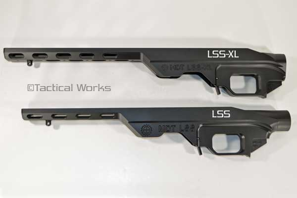 LSS-XL Remington 700 Short Action Chassis by MDT