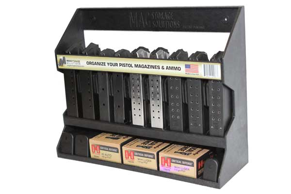 Pistol Magazine Holder By Mag Storage Solutions