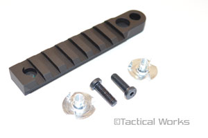Badger Ordnance Bipod Accessory Rail (BAR)