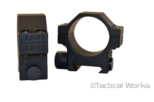 EGW HD Tactical Scope Rings 30MM 1.275""