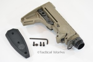 ERGO AR15/M16 F93 Adjustable Pro Stock in Flat Dark Earth