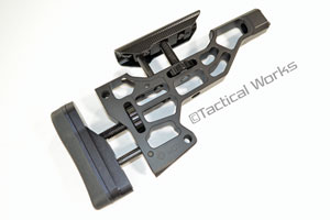 ESS Chassis Buttstock Black