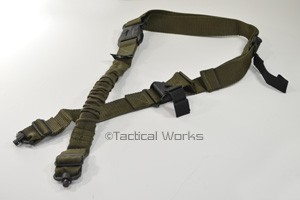 The Bungee Sling OD Green by Rifles Only