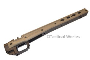 HS3 Remington 700 Short Action Chassis FDE by MDT