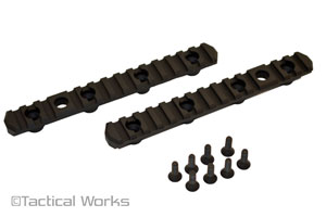 Picatinny Side Rails for HS3 by MDT - 2 pack