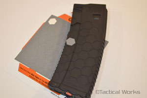 Hexmag Grip Tape for Hexmag Magzines Grey