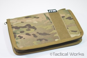 Data Book Cover MultiCam by Rifles Only