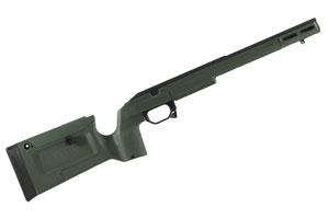Remington 700 Short Action Bravo Chassis Sako Green by KRG
