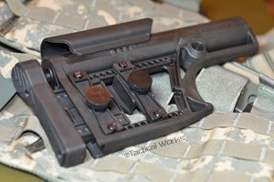 """MBA"" Modular Buttstock Assembly AR stock by Luth-AR"