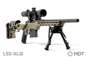 LSS-XL Gen2 Remington 700 Short Action Chassis FDE by MDT