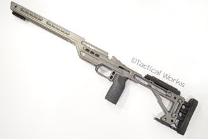 BA Hybrid Chassis for Remington 700 Short Action Tungsten by Masterpiece Arms