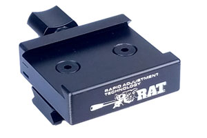RAT (Rapid Adjustment Technology) Picatinny Adapter MPA