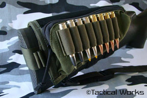 Tactical Operations Ammo Cheek Pad OD Green