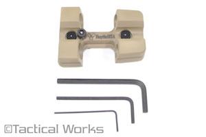 Quiver 2 Round Holder .308 KeyMod FDE by Hoptic USA