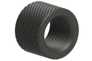 Tikka T1x Titanium Thread Protector Black by Sterk