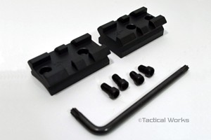 "Tactical Operations Remington 700 2-Piece Tactical Scope Mount ""24"" M.O.A."