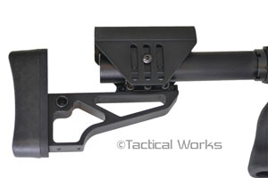 Tactical Lite Butt Stock by XLR