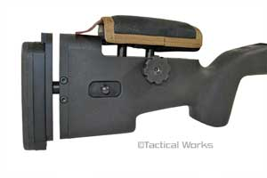 Mini Stock Pad for Choate Tactical Coyote