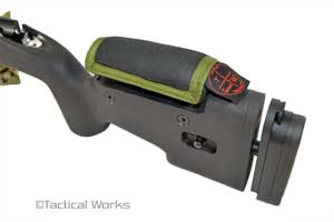 Mini Stock Pad for Choate Tactical OD Green