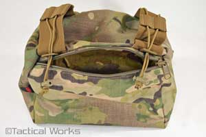 Modular Pump Pillow Multicam by Wiebad