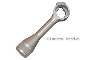 Savage Tactical Stainless Steel Knurled Bolt Handle