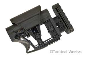 """MBA"" Modular Buttstock Assembly Carbine AR stock by Luth-AR"