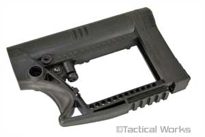 The MBA-4 Carbine AR stock by Luth-AR