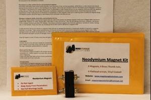 AR-15 Magazine Holder Neodymium Magnet Kit by Mag Storage Solutions