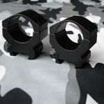Burris Xtreme Tactical Rings 30mm Low (Pair) PN#420160