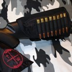 Tactical Operations Ammo Cheek Pad Black Left Hand