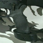 ERGO AR15 Tactical Deluxe Grip with Palm Shelf, SUREGRIP - Ambidextrous