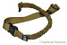 The Carbine Sling Coyote Brown by Rifles Only
