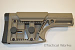 """MBA"" Modular Buttstock Assembly AR stock FDE by Luth-AR"
