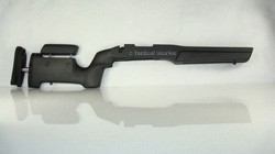 Remington 700 BDL Medalist LA Varmint / Tactical Adjustable Stock - Black by Bell and Carlson