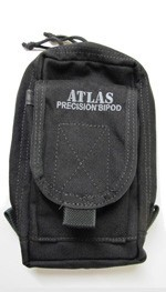 Atlas Bipod Pouch - Black