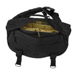 Diagonal Defense Courier Messenger Bag in Black by Hazard 4