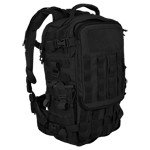 SecondFront Rotatable Backpack in Black by Hazard 4