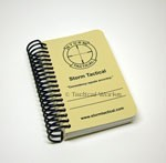 Storm Tactical Pocket Data Book Kit