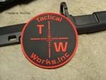 Tactical Works PVC patch - Black