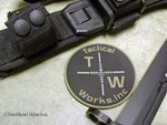 Tactical Works PVC patch - OD Green