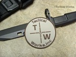 Tactical Works PVC patch - Tan