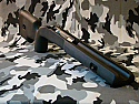 """Savage SA  """"Stagger Feed"""" Left Hand Tactical Stock by Choate"""